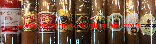 Wide Selection of Cigar Brands at Pars Market Columbia Howard County Maryland 21045