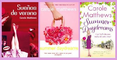 portadas del libro chick lit Sueños de verano, de Carole Matthews