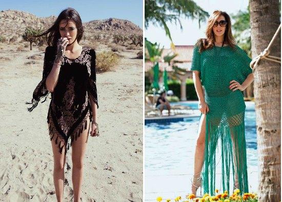 ganchi-playa, ganchillo, playa, crochet, túnicas, tejer, mujer