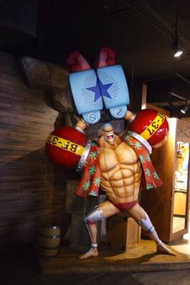 Frankie at Tokyo One Piece Tower Japan
