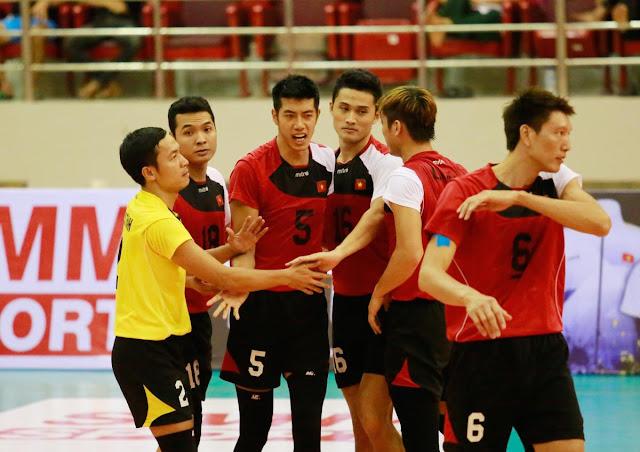 Môn bóng chuyền ở Asian Games 2018: ĐTQG nam gây chấn động khi thắng Trung Quốc