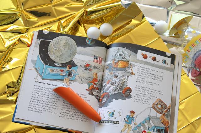 tiptoi Stift Weltraum entdecken Buchtipps Weltraum Astronauten Entdecker Kindergeburtstag Party Verlosung Jules kleines Freudenhaus