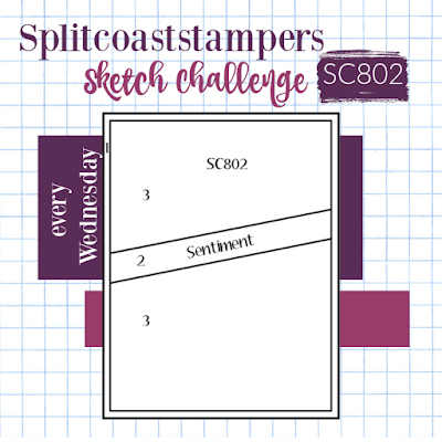 Splitcoaststampers card sketch | #SC802 | Nicole Steele The Joyful Stamper | sketch challenges