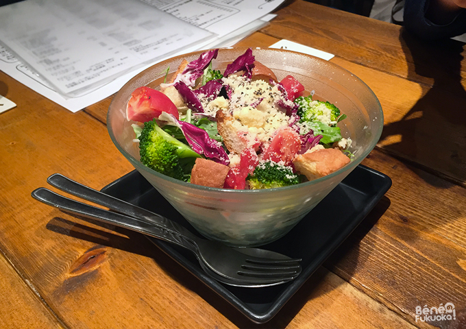 salade au natto, Fukuoka