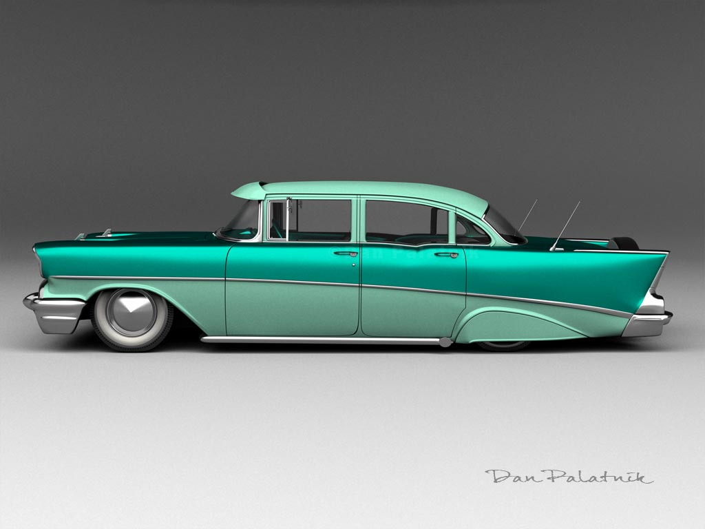 Convertible 1956 chevy bel air convertible : Trichevys in 3d [Archive] - TriFive.com, 1955 Chevy 1956 chevy ...