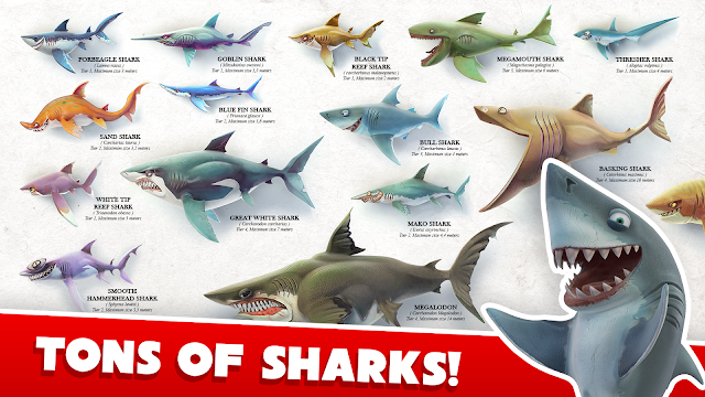 Hungry Shark World v1.0.6 APK MOD DATA (Unlimited Money)