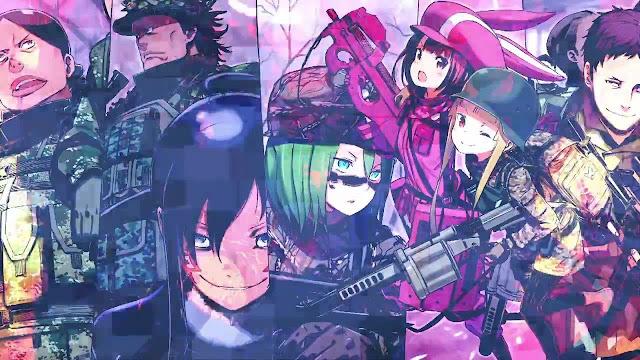 Sword Art Online Alternative: Gun Gale Online-Nuevo tráiler antes de su estreno