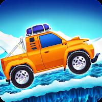 Arctic roads: car racing game