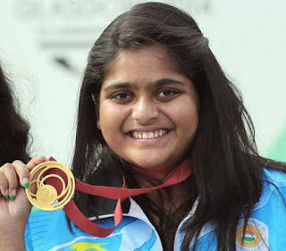 Rahi Sarnobat becomes first Indian female shooter to win gold at Asian Games