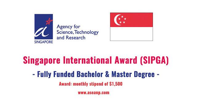 Beasiswa Di Singapura Untuk penelitian Biomedis, Sains dan Teknik 2019