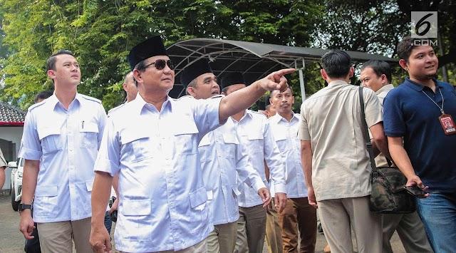 Prabowo Subianto: Politik Kami Bukan untuk Ambisi Pribadi tapi ada rencana rahasia dari dulu