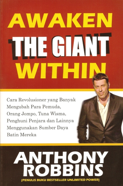 Awaken The Giant Within oleh Anthony Robbins