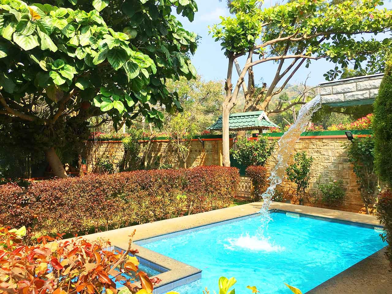 luxury villa in yelagiri hills for daily rent