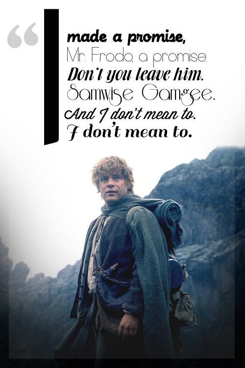 Stories in the ... Lord Of The Rings Quotes Sam