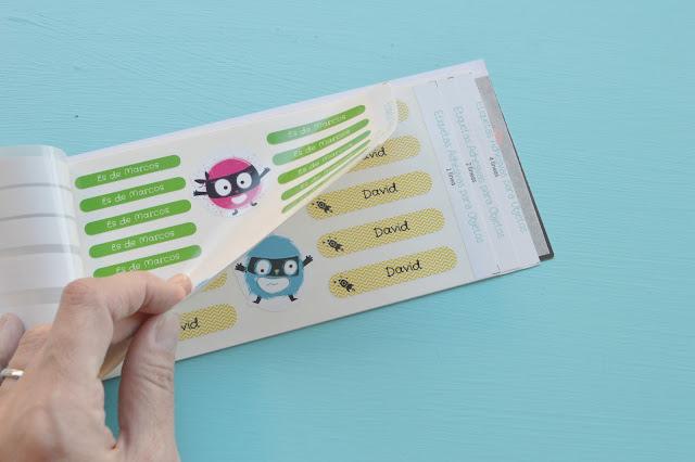 Etiquetas adhesivas personalizadas Petit Fernand