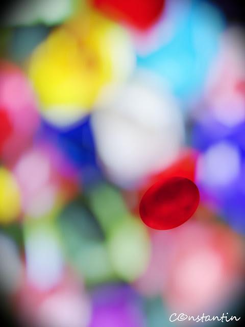 Flori hârtie - impresionism (focus_selectiv) - blog FOTO-IDEEA