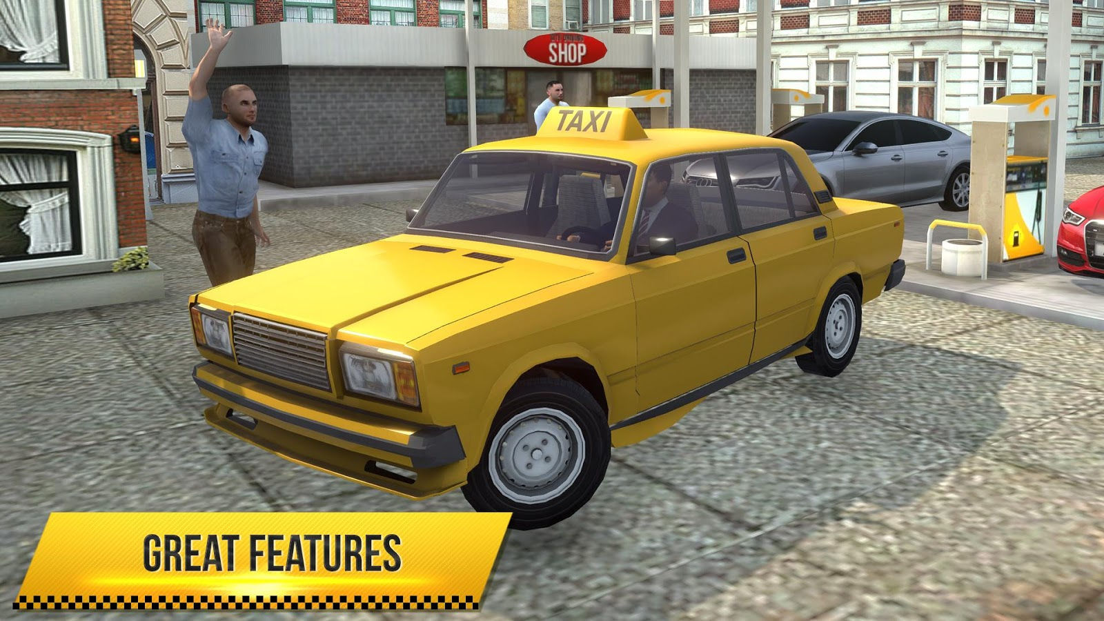 Taxi Simulator 2018 MOD APK