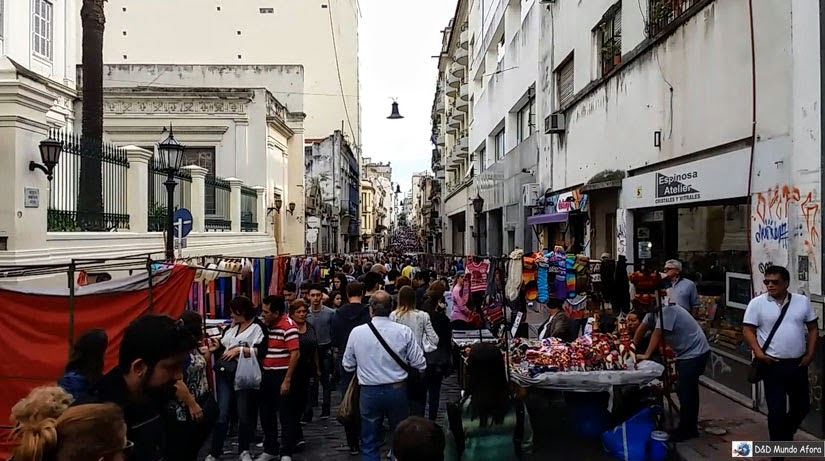 Feira de San Telmo Buenos Aires Argentina