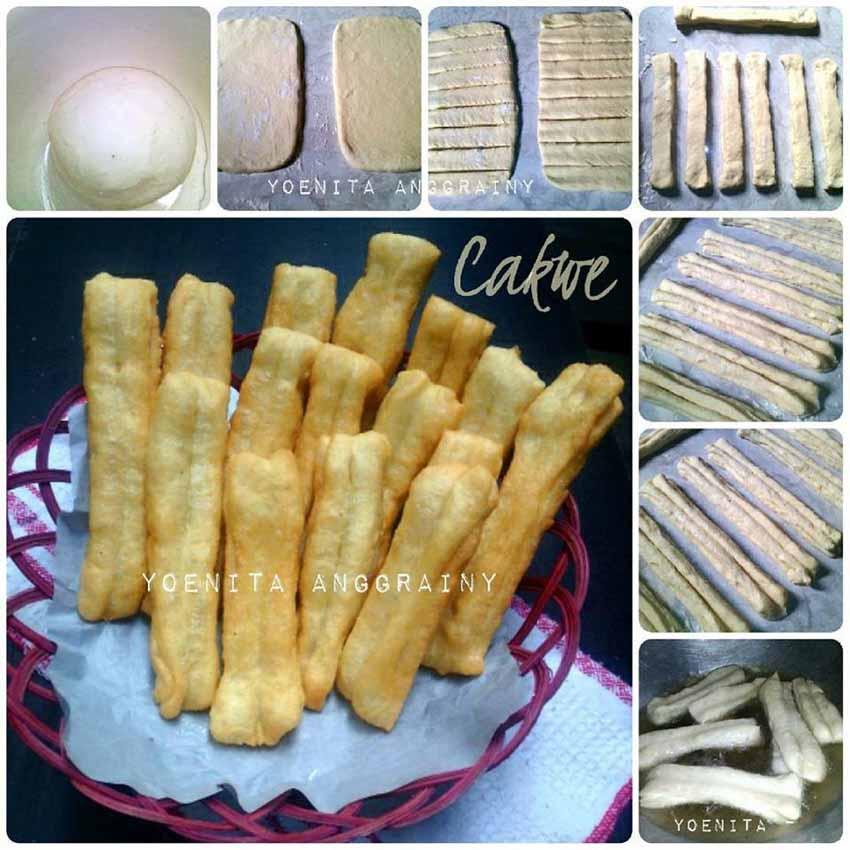 Resep Membuat Cakwe Super Gampang dan Praktis. No Telur dan No Mentega. Hasilnya Empuk dan Enak Banget