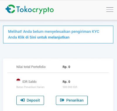 Mudahnya Verifikasi KYC di Toko Crypto