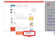Cara menghapus credit link template blogger