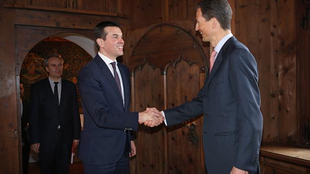 Mazedonischer Aussenminister in Liechtenstein