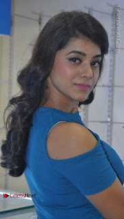 Telugu Actress Yamini Bhaskar Latest Pos in Blue Top and Black Skirt  0014.jpg
