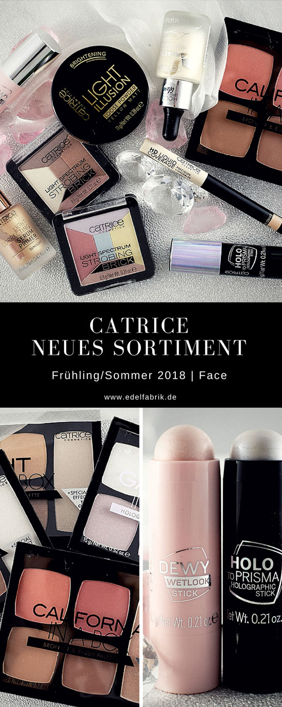 Catrice Neues Sortiment Frühjahr Sommer 2018, Review, Swatch