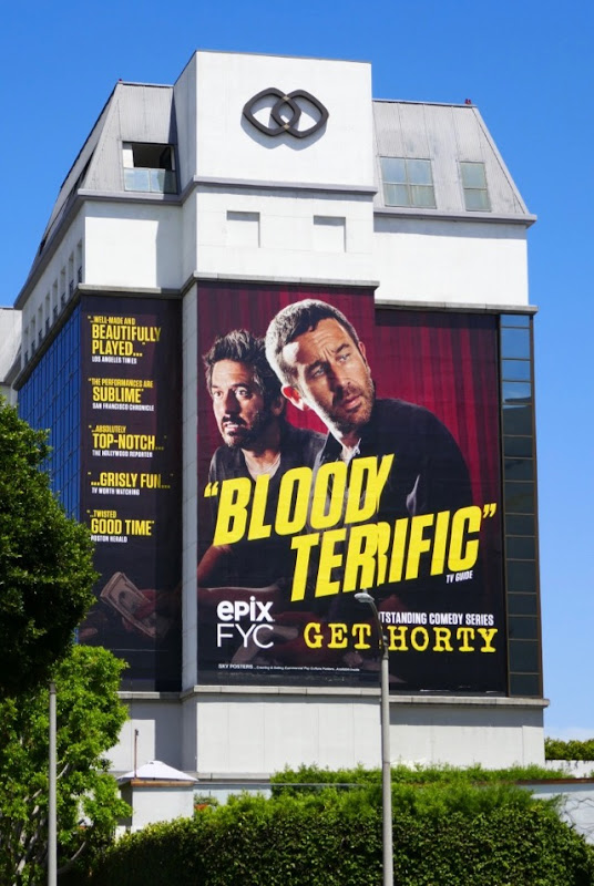 Giant Get Shorty 2018 Emmy FYC billboard