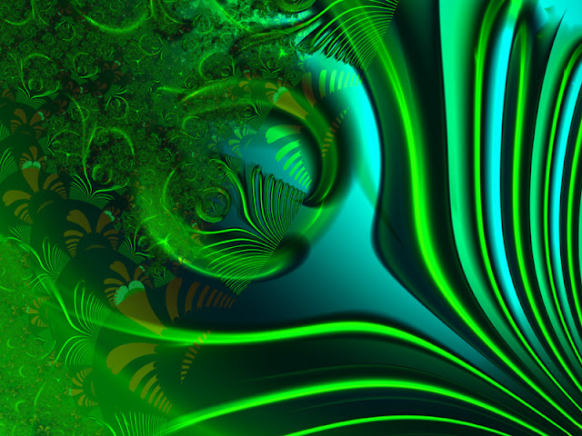 Pictures: Fantastic Green Fractal Art | Amazing, Funny ...