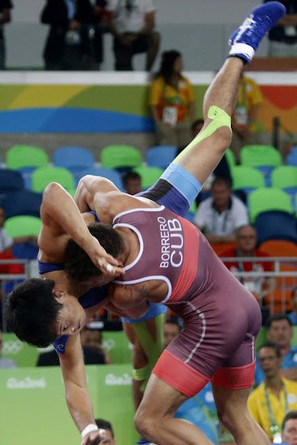 Borrero primera medalla de oro para Cuba en Rio 2016