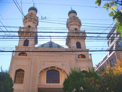 Kobe Mosque, Kitano, Kobe, Japan.