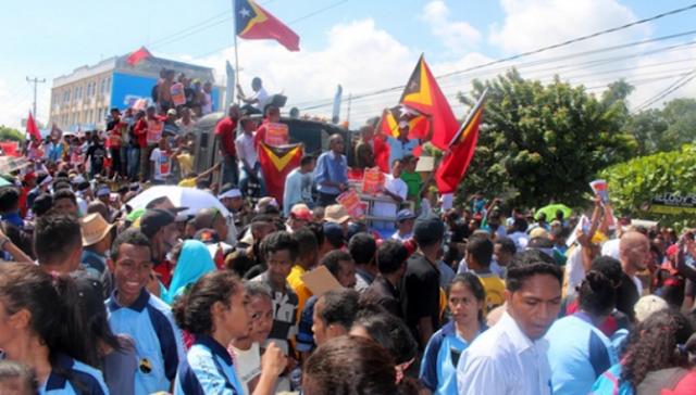 Timor Leste, Dulu didukung Merdeka Sekarang Menyerukan Rakyatnya Melawan Australia