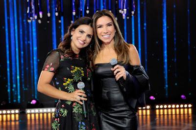 Aline Barros e Patricia - Crédito: Lourival Ribeiro/SBT