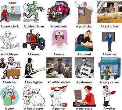 شرح بالفيديو تعلم الوظائف فى اللغة الانجليزية how to learn jobs in english