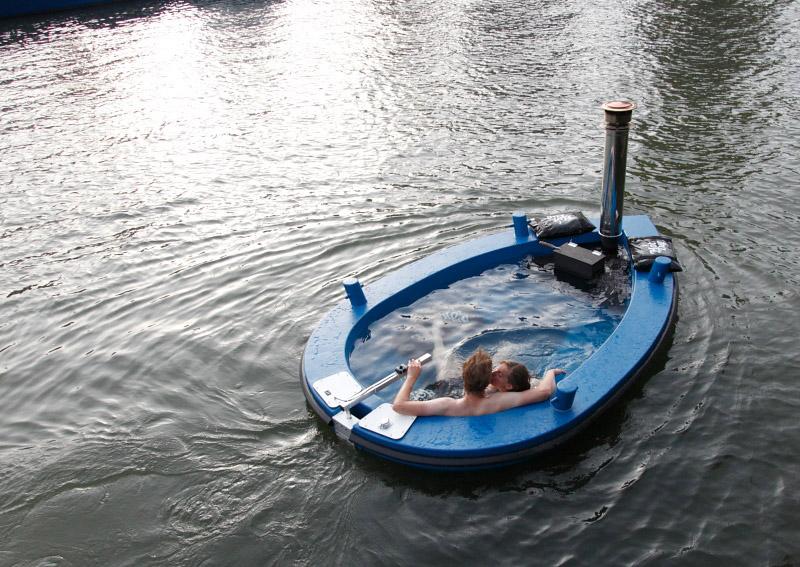Motorized Hot Tub