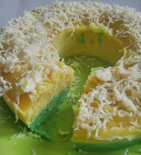 Resep dan Cara Membuat Cake Kentang Kukus Pandan Durian
