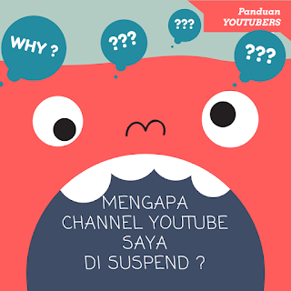 Penyebab Suspend Channel Youtube