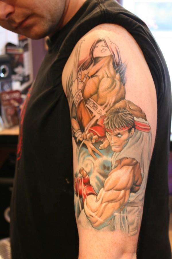 Street Fighter Tatuagem De Street Fighter