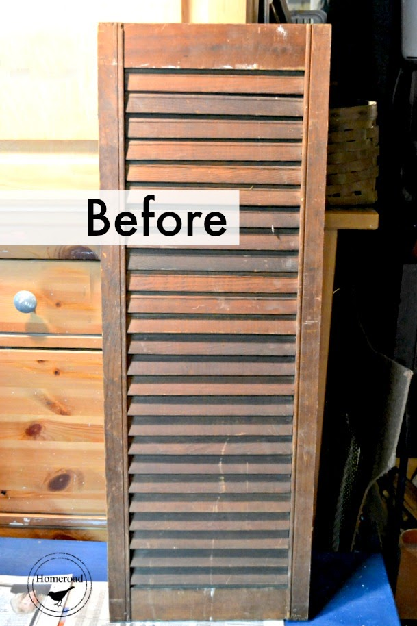 Shutter with before overlay