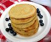 Chickpea Flour Breakfast Pancakes