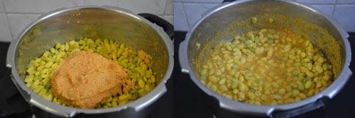 Method for Field Beans Kootu Recipe