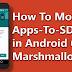 Cara memindahkan aplikasi dari internal ke micro sd (Marshmallow)