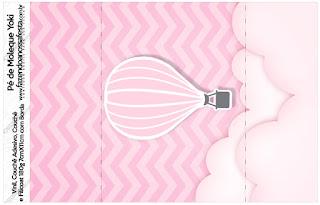 Volando en Rosa: Etiquetas para Candy Bar para Descargar Gratis.