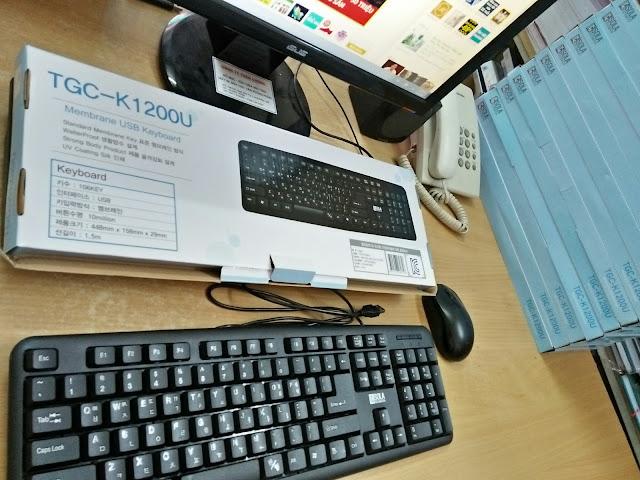 Bàn Phím Hàn Quốc TGC K1200U
