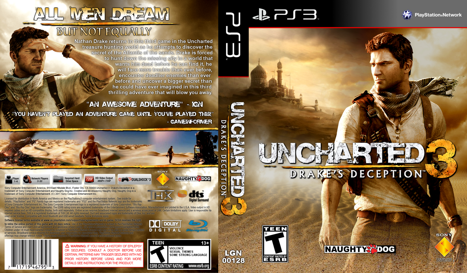 Trololo Blogg Uncharted 3 Hd Wallpaper