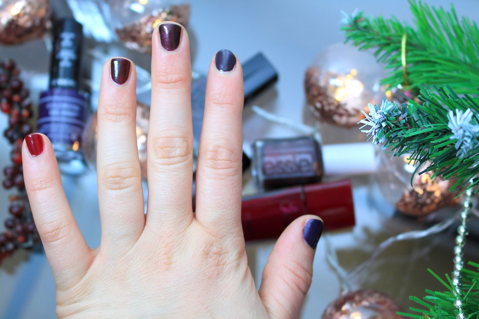 Winter Manicures