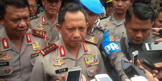 Perintah Tegas Kapolri Jendral Tito Kepada Setiap Kapolda Terkait Adanya Gerakan Tamasya Almaidah