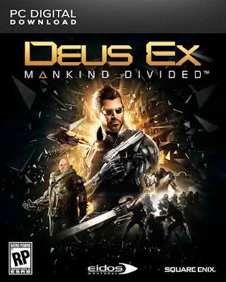 Deus Ex: Mankind Divided Dublado PT-BR + CRACK PC Torrent