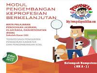 Modul PKB 2017 PJOK SD Terintegrasi Dengan Pendidikan Karakter dan Pengembangan Soal